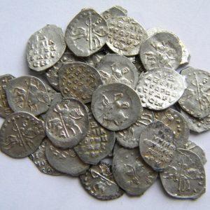 Допетровские монеты Чешуя